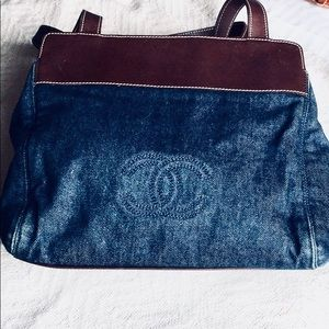 Chanel Tote Casual yet Chic Denim and Leather
